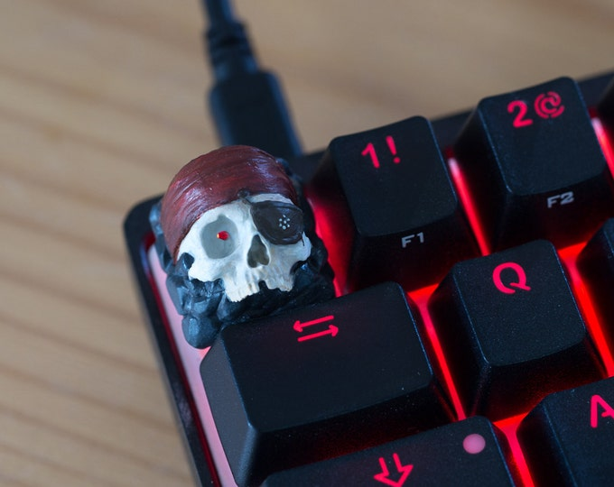 One Eyed Willie - Cherry MX Keycap (Custom Hand Painted)