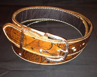 Handcrafted Genuine Leather Belt