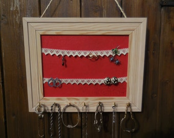 Door wall jewelry - jewelry to hang door - door clamps - door jewelry