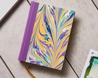 Marbled Blank Notebook/Journal/Sketchbook