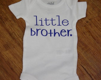 Little Brother onsie