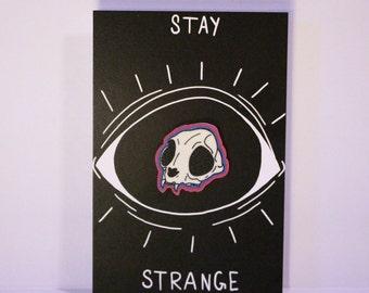 Cat Skull Pin
