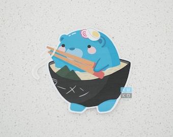 Ramen Bear Sticker