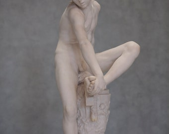 Boy Removing Thorn, statue