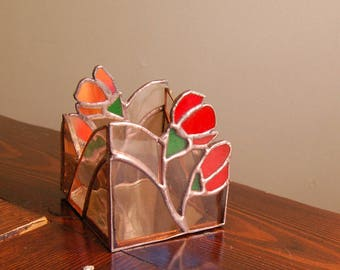 CHRISTINA // Stained Glass Candle Holder
