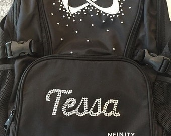 Customized 5-6 letter name Classic Nfinity Backpack