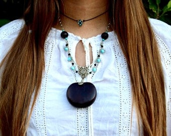 Sea Heart necklace