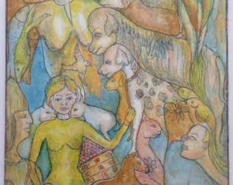 oil painting, surrealistic oil painting, surrealism painting, surreal art, fantasy painting, Original oil painting, Zwia