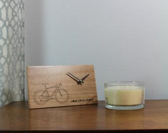 Bicycle Desk Clock