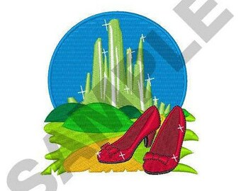Wizard Of Oz - Machine Embroidery Design