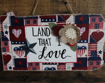 Pennsylvania Land That I Love Wall Hanging