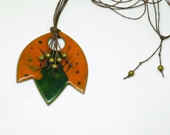 Necklace necklace, poppy poppy, necklace flower, different necklace, jewellery boho chic, jewelry jewellery