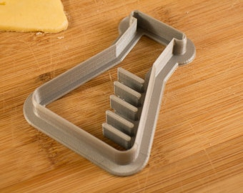 Erlenmeyer flask science cookie cutter