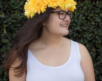 Gerbera Daisy Flower Crown