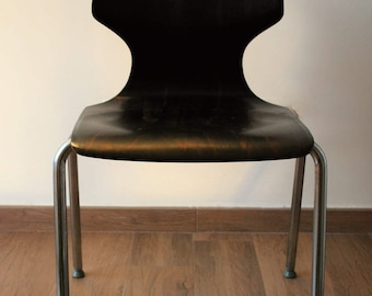 Design chair.Original Pagholz Pagwood.Series 5185. Vintage 60s 70s.