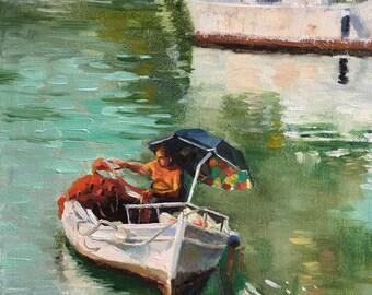 A Fishman in Sicily
