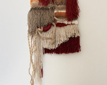 Autumn in the Garden - handmade weave