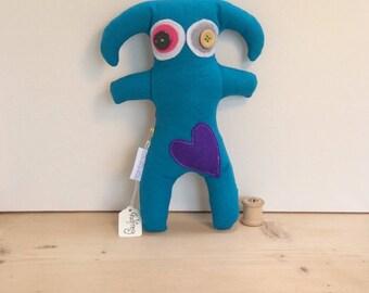 Godfrey - stuffed monster