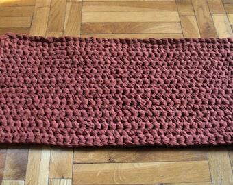 crochet rug chunky crochet rug hand crochet rug crochet carpet