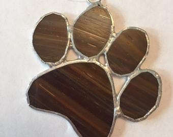 Dog Paw Suncatcher