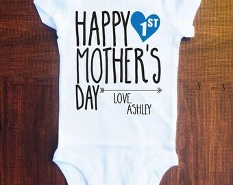 First Mother's Day Onesie