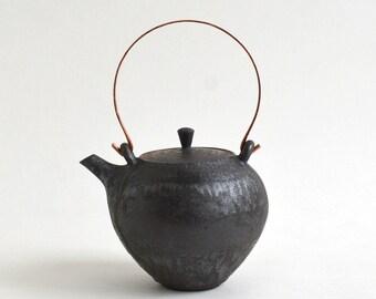 Tea pot (M-Black) , Made to Order in 2 months ; Mineko Nishimura  (Studio Keizan) 16006206-MB