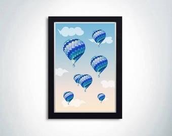 "Poster ""Balloons"""