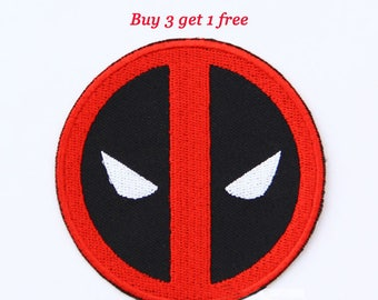 Dead Pool Patch Dead Pool Iron On Dead Pool Birthday Dead Pool Gift NOT Dead Pool embroidery design Dead Pool applique design