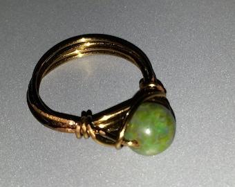 Going Green Ring