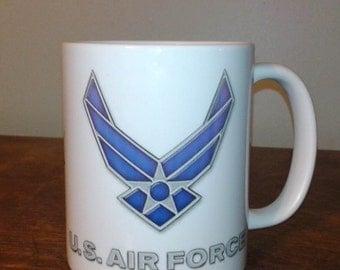 USAF Air Force Ceramic 11 oz mug