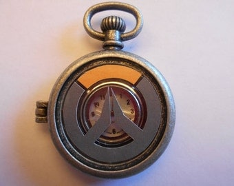 Overwatch Themed Pocket Watch Locket