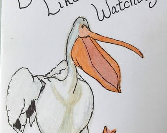 Dance Like No One's Watch - Pelican Note Card and Envelope