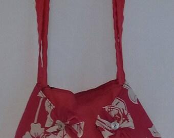 Hawaiian Bag Lady In Red