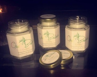 Eucalyptus Healing Candle ~Aromatherapy~         Organic Essential Oil