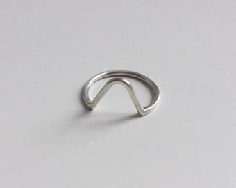 Triangular Stacking Ring