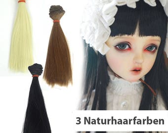 BJD dolls hair, 15 x 100 cm hair braids