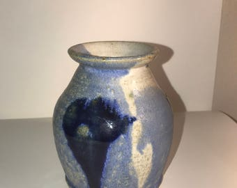 Blue / White Glazed Stoneware