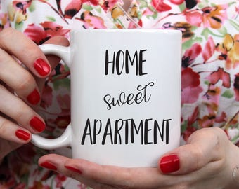 Home Sweet Apartment Mug | Home Sweet Apartment | Apartment Mug | Apartment Gift | Housewarming Gift | Apartment Decor | New Apartment Gift