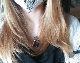 White Owl Kandi Mask