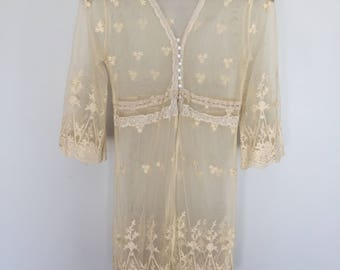 Lace Gypsy Dress