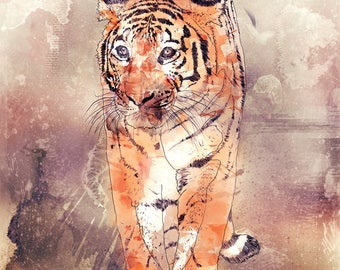 Paper Tigers - Limited Edition Signed Print