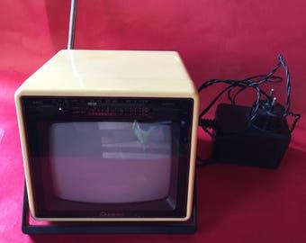 Mini vintage television