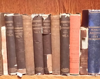 Vintage Books, Shabby Chic, Upcycling, Interior Design