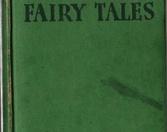 The Grimms' Fairy Tales - The Brothers Grimm - No date given - Vintage Kids Book