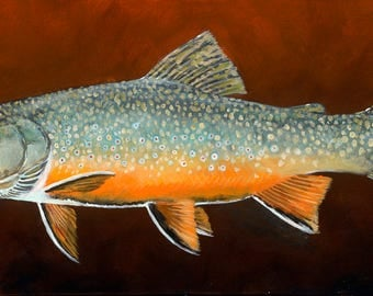 """Shimmer Brookie, 10"""" x 18"""" Giclee print on paper"""
