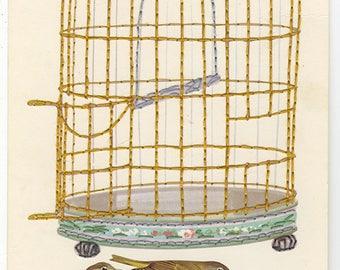 Escape artists. Original collage by Vivienne Strauss.