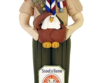 Eagle Scout Ornament for Hanging