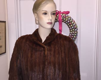 Antique Mink Coat
