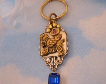 COCKER SPANIEL ANGEL Memorial Keychain.Cocker Spaniel Sympathy Gift Remembrance Keepsake Gifts Spaniel Lovers. Women Key Chain Purse Jewelry