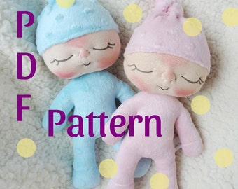PDF Pattern- How to Make a Sweetie BeBe Baby Doll by BeBe Babies and Friends